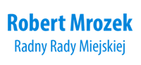 Radny Robert Mrozek