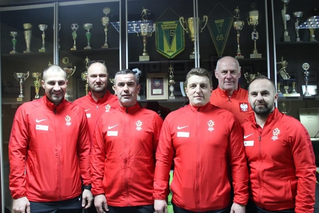 Trenerzy z ligowym doświadczeniem odwiedzili nasz Klub