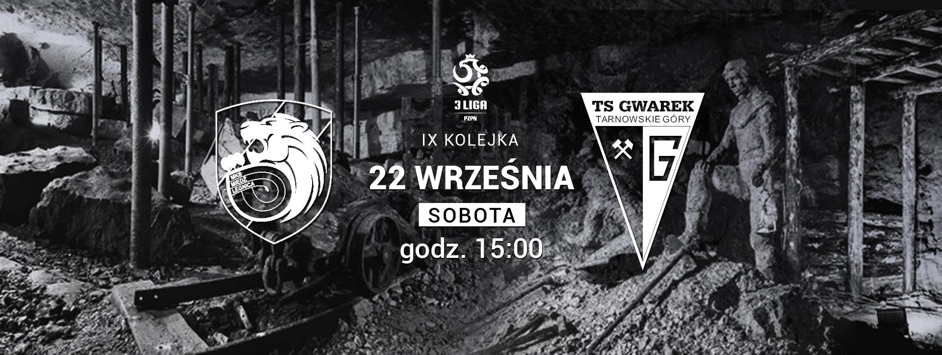 ZAPOWIEDŹ: Miedź II Legnica – Gwarek Tarnowskie Góry